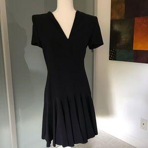 Alexander McQueen navy short dress 44